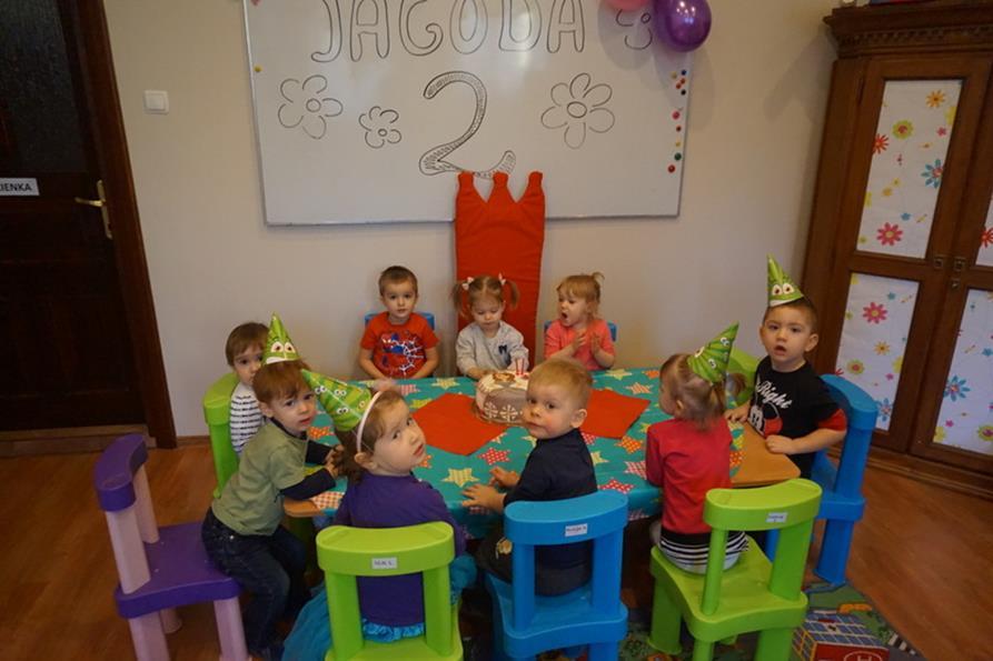 Urodzinki Jagódki