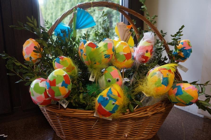 Niespodzianki od Zajączka Wielkanocnego