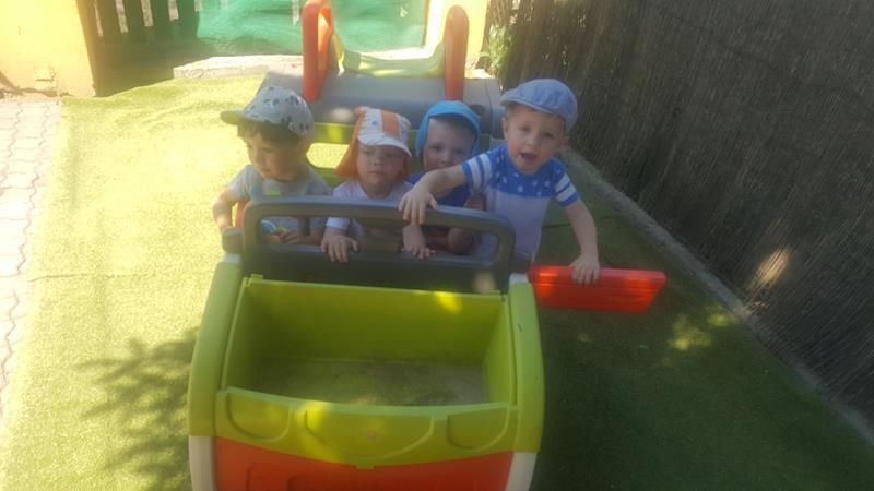 Plac zabaw dla małych i dużych