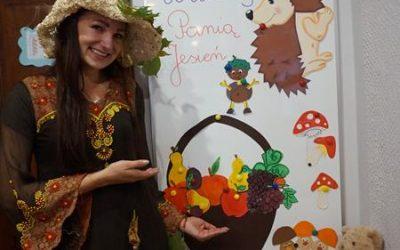 Wizyta pani Jesieni i dzień brązowy :)