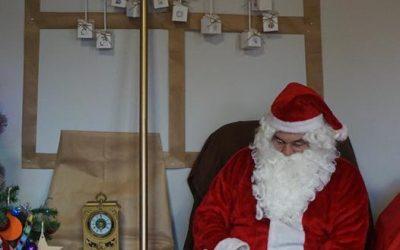 Wizyta Świętego Mikołaja :)