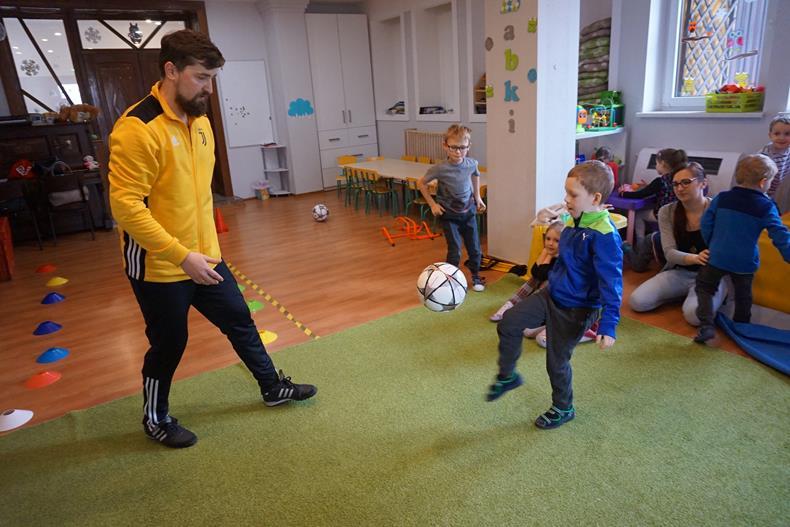 Profesjonalny trening piłkarski