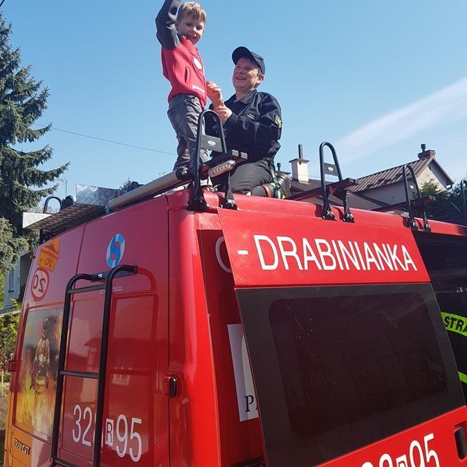 Dzień Strażaka w Przedszkolu :)